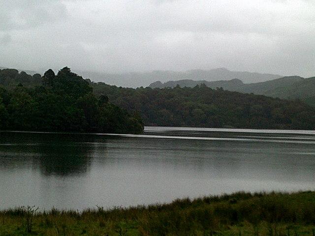 Grey day at Grasmere lake