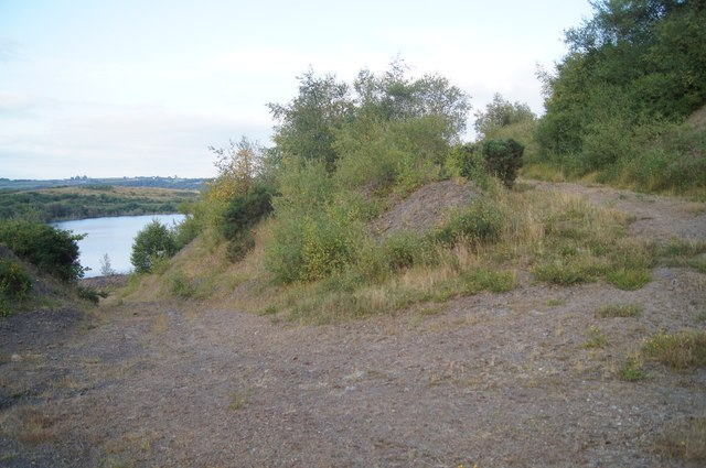 Access track - Woolladen Stone Quarry