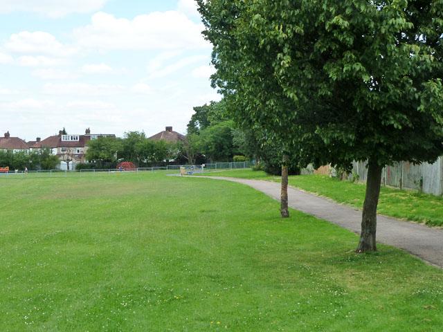 Path, Northborough Road Playground