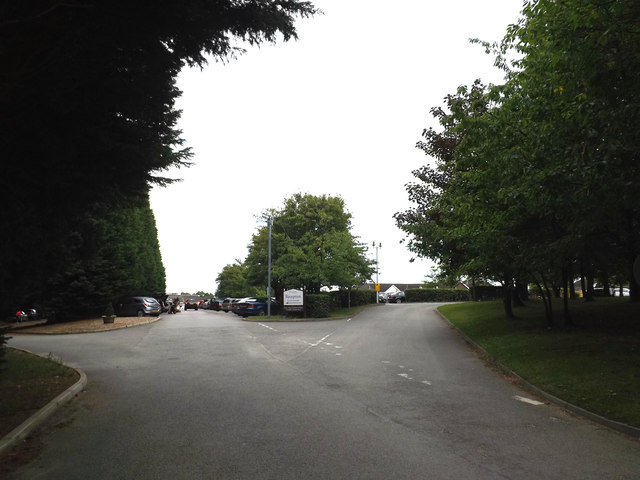 Entrance of Stoke By Nayland Golf Club