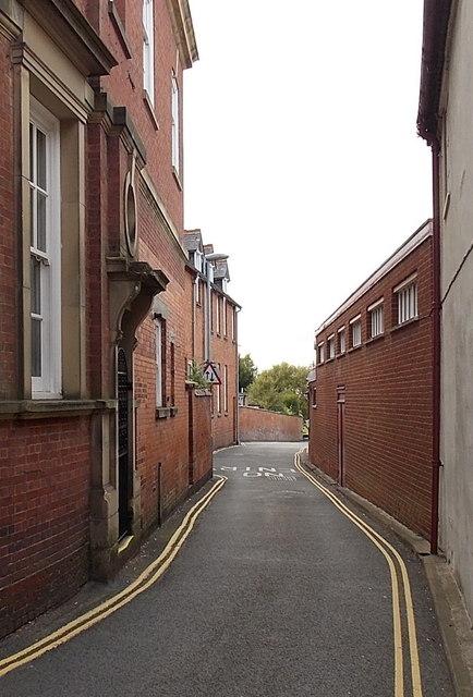 No parking in Back Lane, Market Bosworth