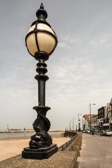Street Lamp on Promenade
