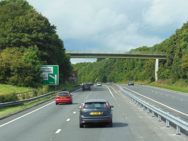 The A55, North Wales Expressway