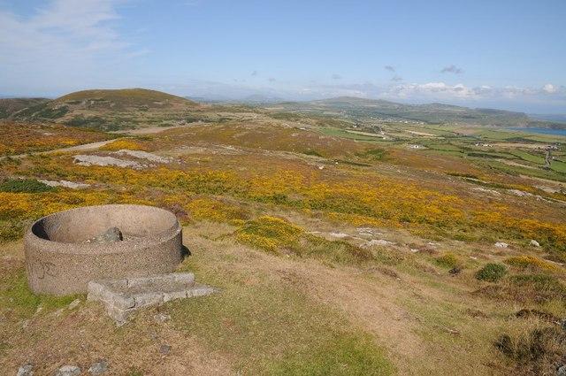 On top of Mynydd Mawr