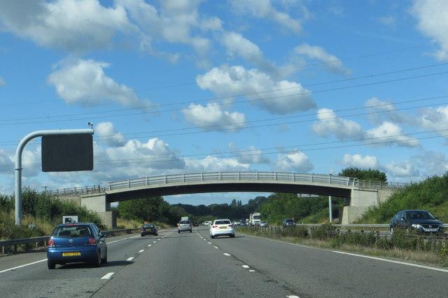 M4 heading west