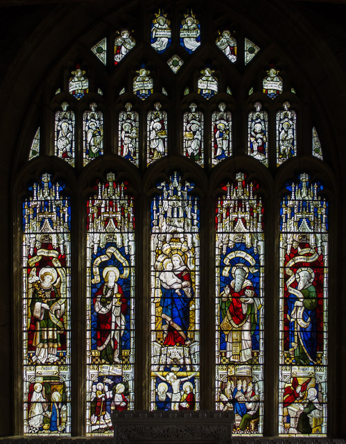East Window, St Mary's Ilminster