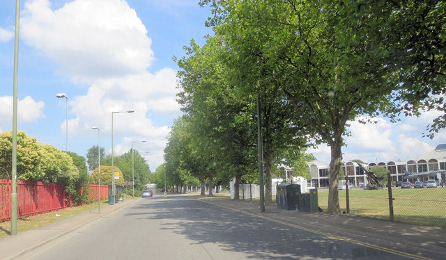 Grahame Park Way passes the RAF Museum