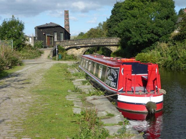 The Rochdale Canal at Kilnhurst Bridge