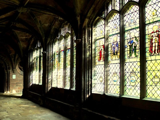Chester Cathedral, Saints Day Stained Glass Windows