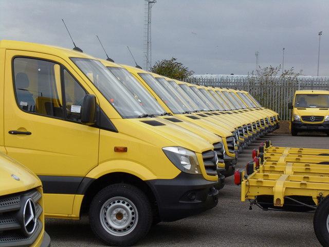Morrisons Home Delivery Vans