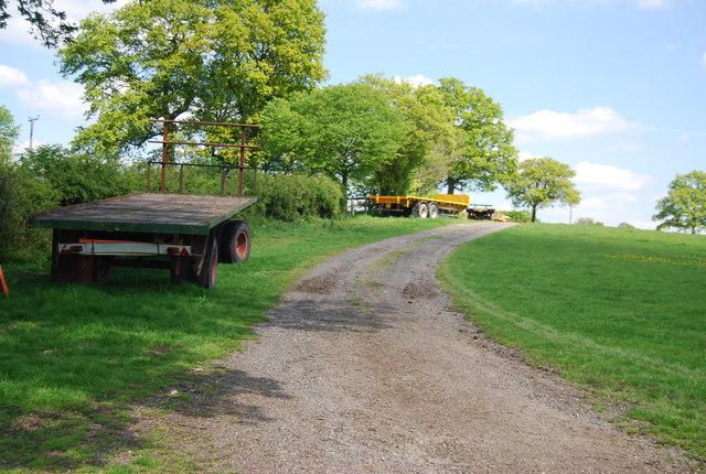 Low loaders by footpath