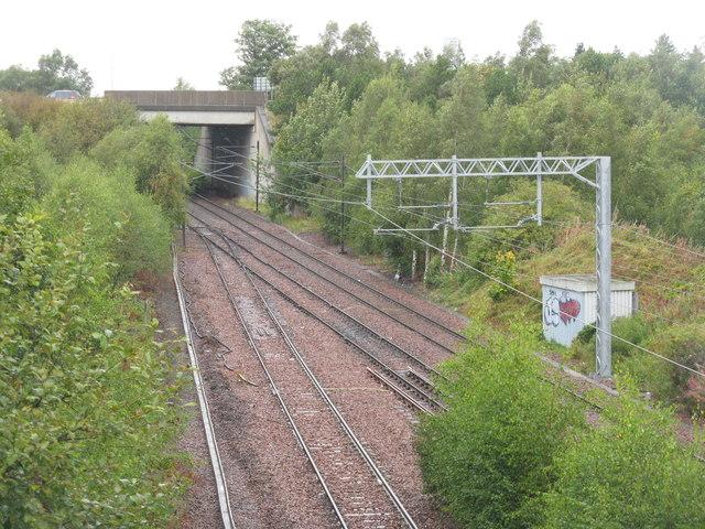 The start of the Borders Railway