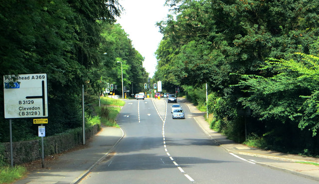 On the A 369