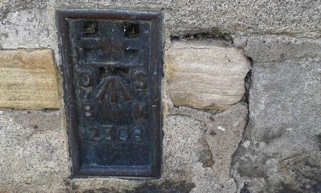 Ordnance Survey Flush Bracket 2308