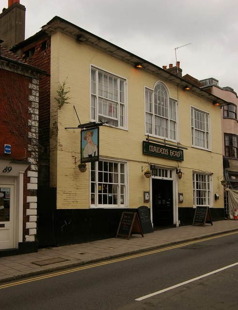 """Maidens Head"" public house, Uckfield"