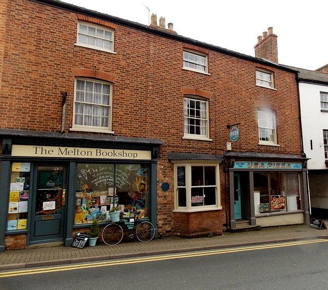 The Melton Bookshop, Melton Mowbray