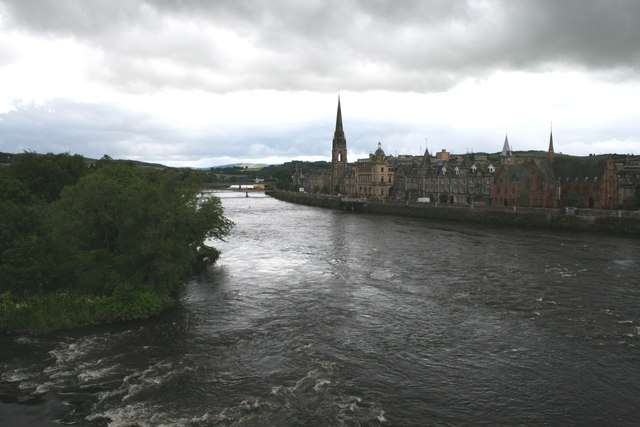 River Tay from Perth Old Bridge