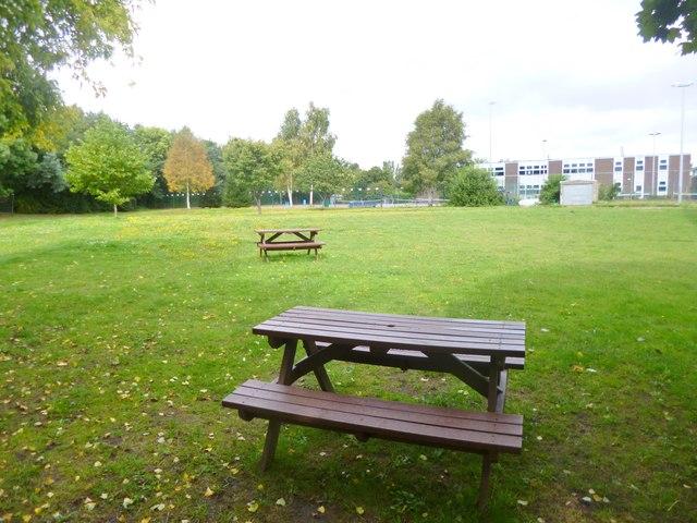 Wareham, outdoor seating area
