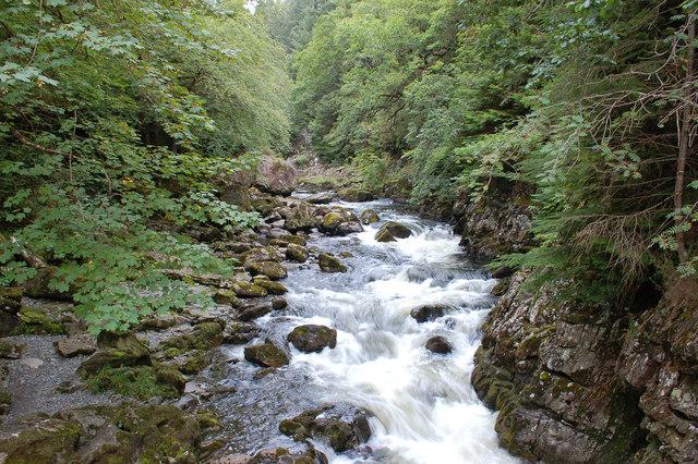 River Llugwy  / Afon Llugwy