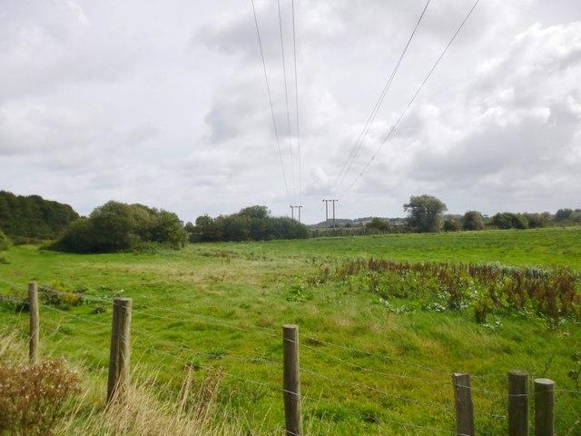 Wareham, power lines