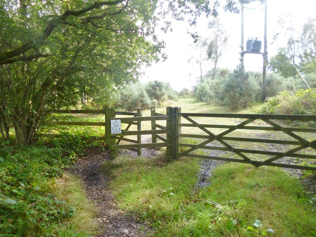 Stoborough Heath, gates