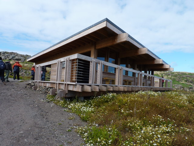 Isle of May visitor centre