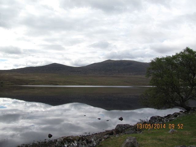 A loch like glass