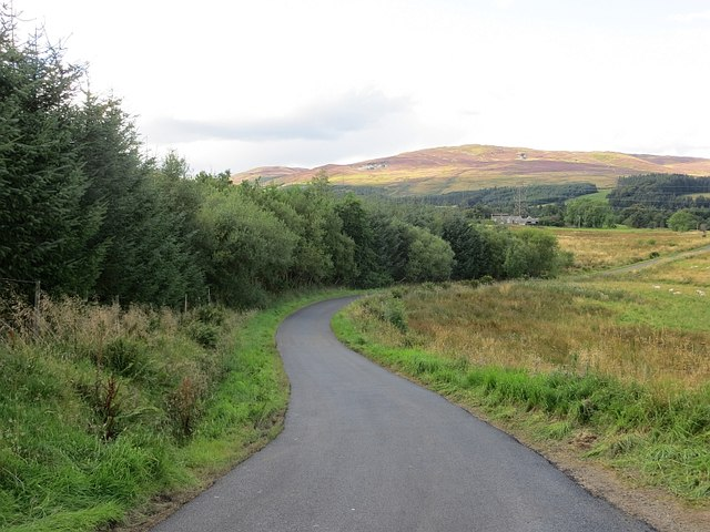 Minor road, Buchanty