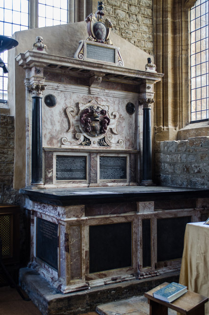 Wadham tomb, St Mary's church, Ilminster