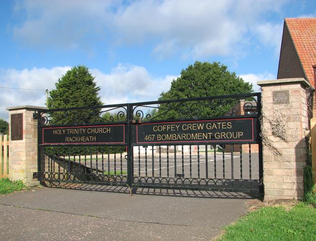 Holy Trinity church - the Coffey Crew gates