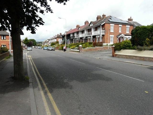 Terrace of houses, Barton Road