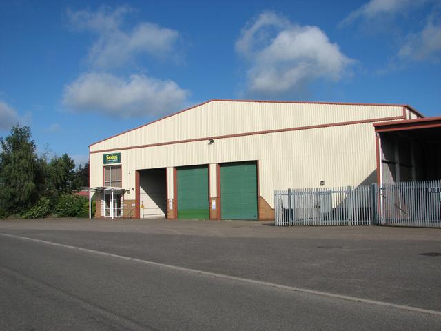 Hangar on the Rackheath Industrial Estate