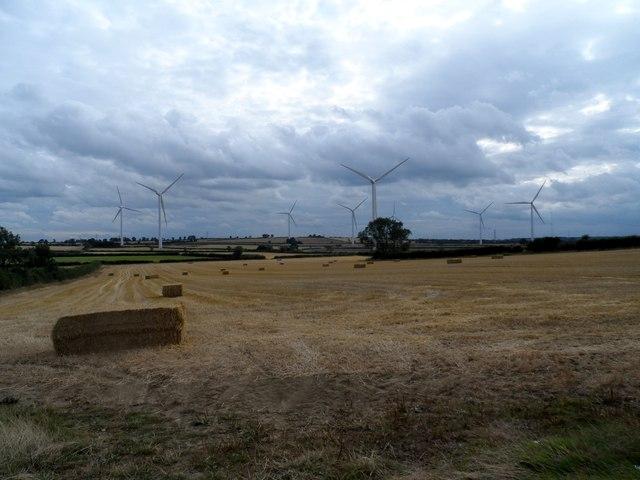Farmland and Windturbines