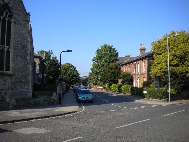 North end of Burlington Road, Ipswich
