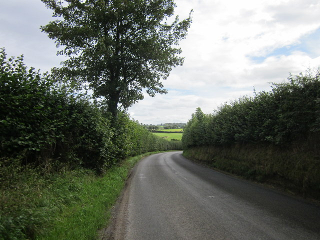 The B5395 (Oldhall Street) near The Hough