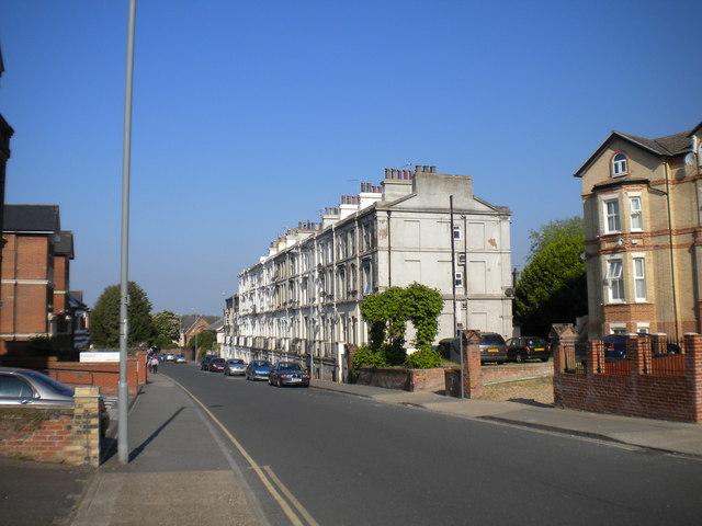 East end of London Road, Ipswich