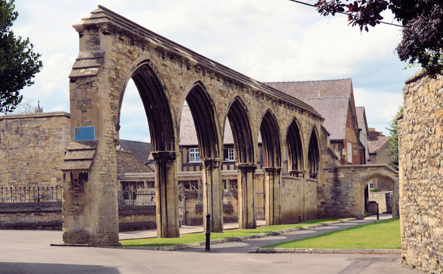 The Infirmary arches, Gloucester Cathedral