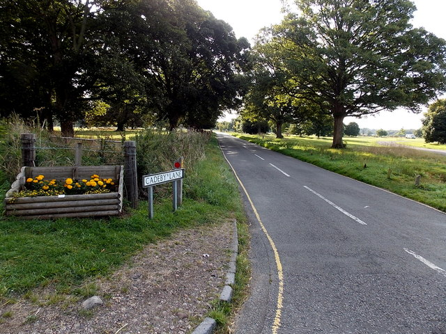 NW end of Cadeby Lane, Market Bosworth