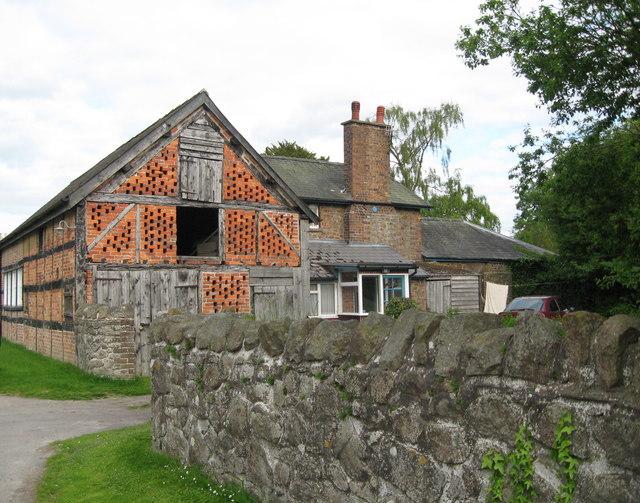 Herefordshire half-timbering 3-Brampton Bryan