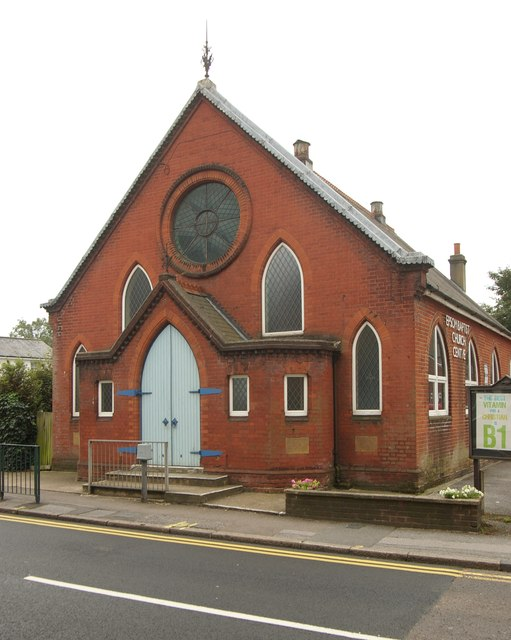 Epsom Baptist Church (built 1907)