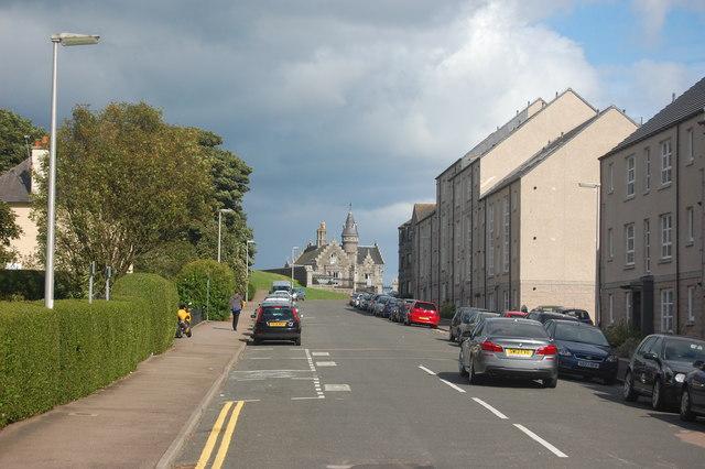 Looking down Erroll Street, Aberdeen