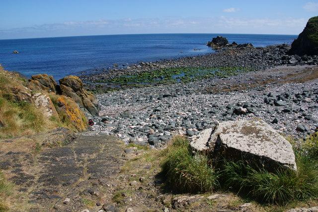 The beach at Poltesco
