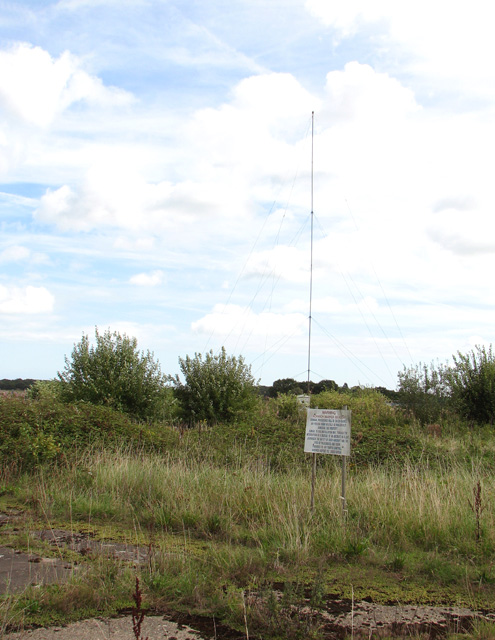 Norwich Airport marker beacon