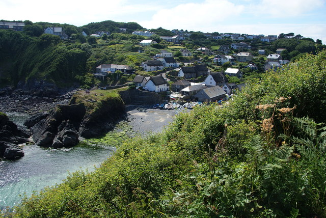 Cadgwith from the South West Coast Path