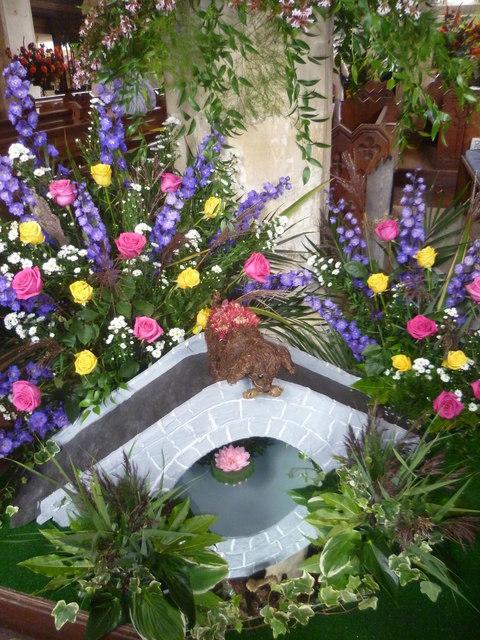 Flower festival at Rolvenden