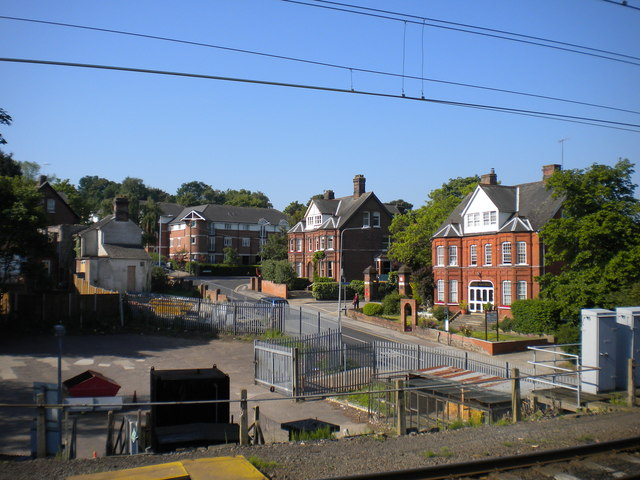 Ancaster Road from Ipswich station