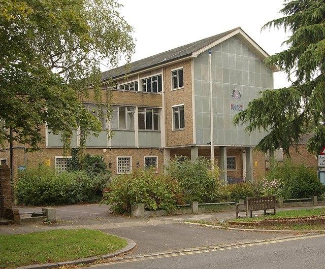 Former police station, Epsom (closed 2012)