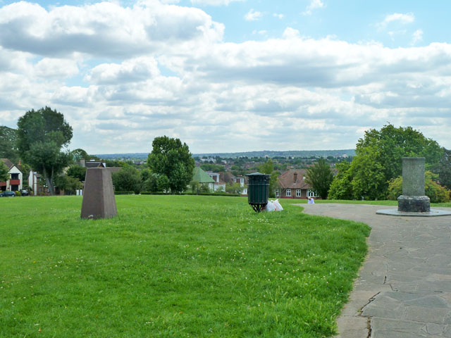 On top of Pollards Hill
