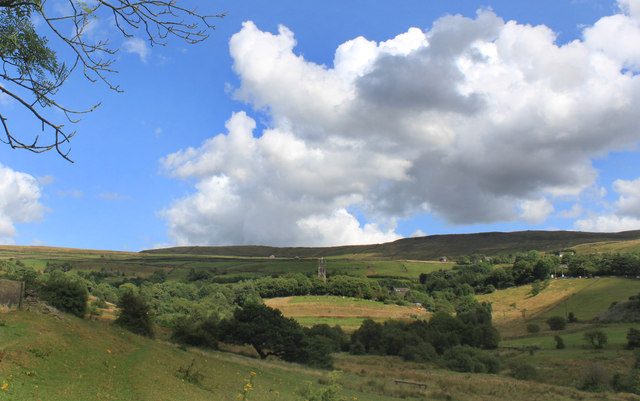 Saddleworth Church and Pickhill Clough