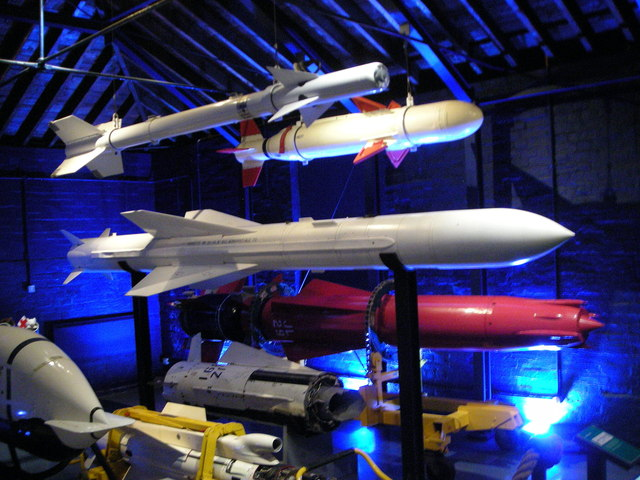 Missiles at the Museum of Naval Firepower